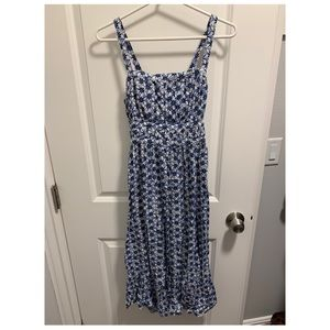 Blue Midi Sundress